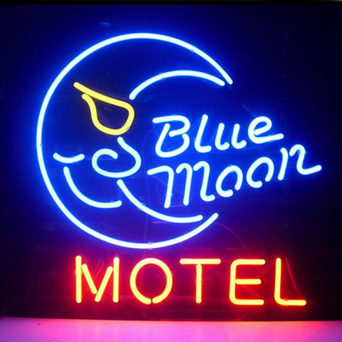 Professional  Blue Moon Motel Hotel Country Retro