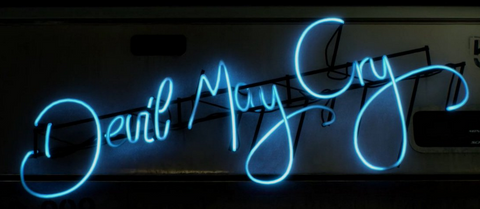 Devil May Cry Handmade Art Neon Signs