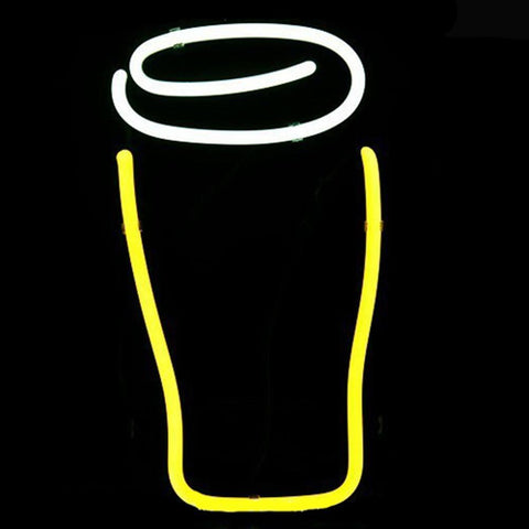 Professional  Guinness Bottle Logo Pub Display Store Beer Bar Real Neon Sign Xmas Gift