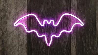 New Handmade Art Neon Sign- Halloween Handmade Art Neon Sign