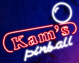Kam's Pinball Neon Glass Tube Neon Signs