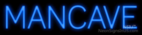 Man Cave Simple Neon Sign