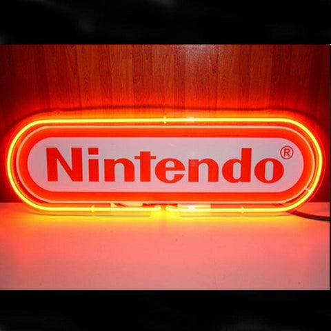 Professional  Nintendo Red Neon Sign