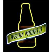 Negra Modelo Dark Beer Bottle Handmade Art Neon Sign