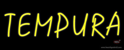 Yellow Tempura Neon Sign