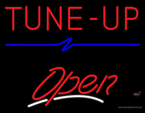 Tune-Up Open Neon Sign