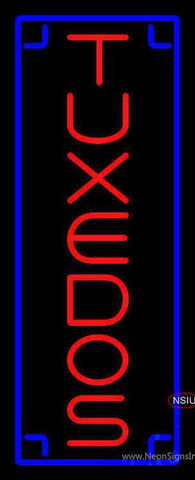 Tuxedos Vertical Neon Sign