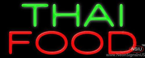 Thai Food Neon Sign