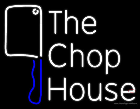The Chophouse With Knife Neon Sign