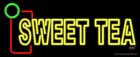 Yellow Sweet Tea Neon Sign