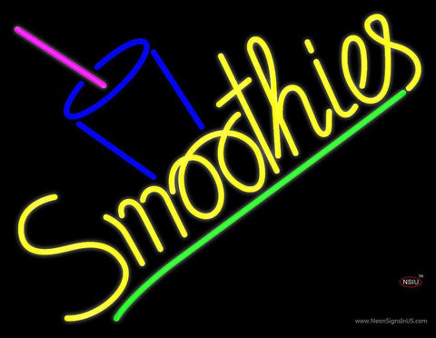 Smoothies Neon Sign