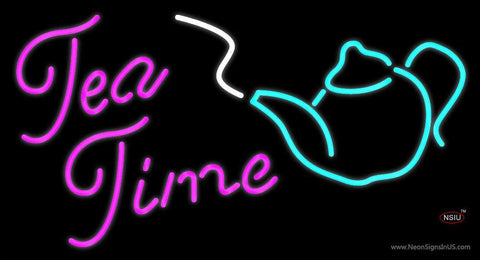Tea Time Neon Sign
