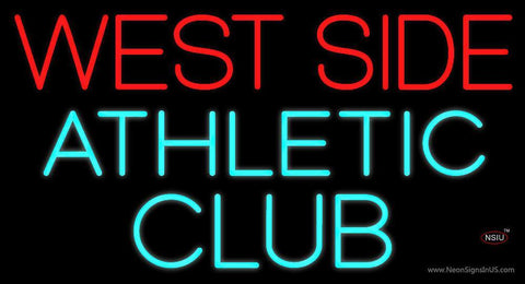 West Side Athletic Club Neon Sign
