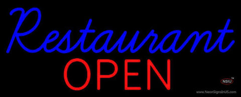 Restaurant Open Neon Sign