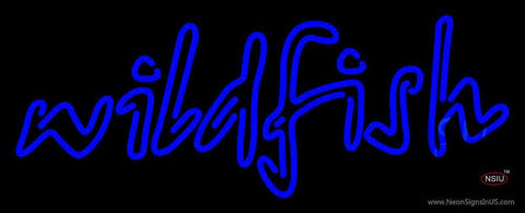 Wildfish Seafood Neon Sign