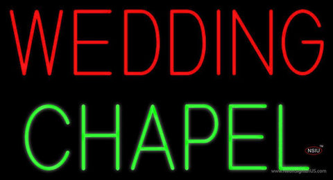 Wedding Chapel Neon Sign