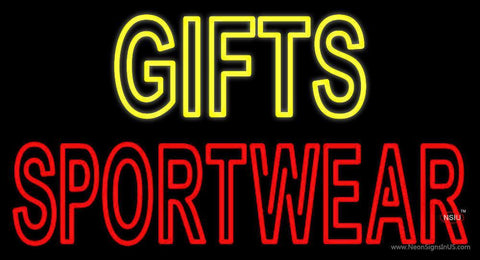 Yellow Gifts Red Sportswear Neon Sign