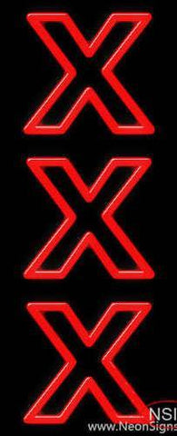 Xxx Real Neon Glass Tube Neon Sign