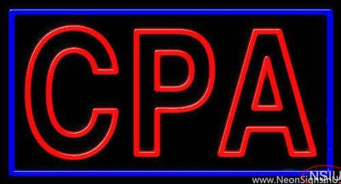Cpa Real Neon Glass Tube Neon Sign