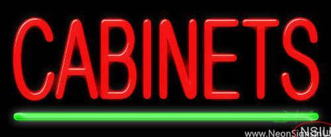 Cabinets Real Neon Glass Tube Neon Sign