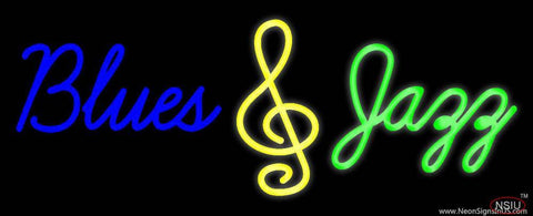 Blues Jazz Real Neon Glass Tube Neon Sign