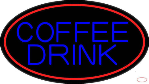 Coffee Drink Real Neon Glass Tube Neon Sign