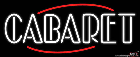 Round Cabaret Real Neon Glass Tube Neon Sign
