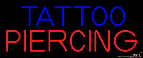 Tattoo Piercing Real Neon Glass Tube Neon Sign