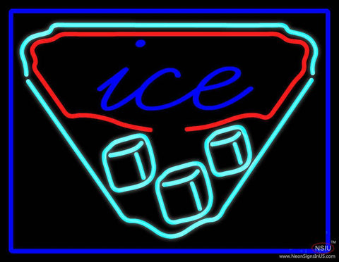Classic Ice Real Neon Glass Tube Neon Sign