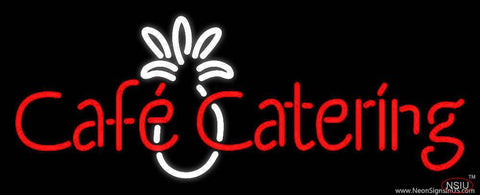 Cafe Catering Real Neon Glass Tube Neon Sign