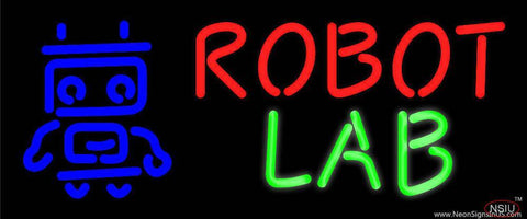 Robot Lab Real Neon Glass Tube Neon Sign