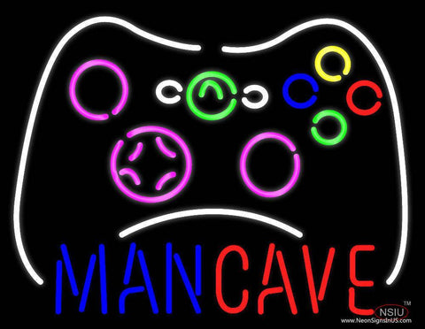 Man Cave Real Neon Glass Tube Neon Sign