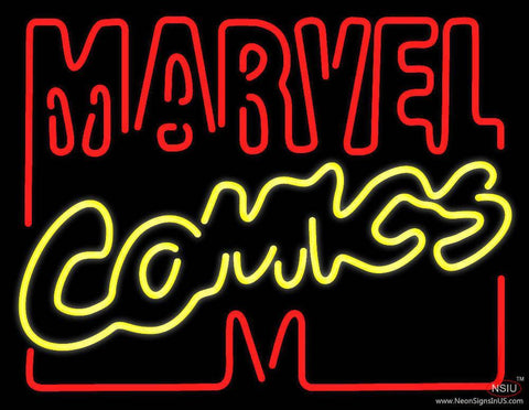 Marvel Comics Real Neon Glass Tube Neon Sign