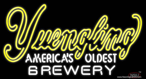 Yuengling Americas Oldest Brewery Real Neon Glass Tube Neon Sign