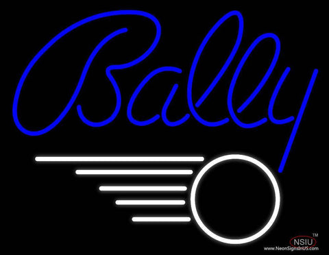 Bally Real Neon Glass Tube Neon Sign