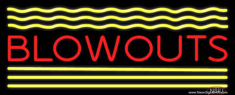 Blowouts Real Neon Glass Tube Neon Sign
