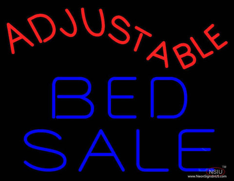 Adjustable Bed Sale Real Neon Glass Tube Neon Sign