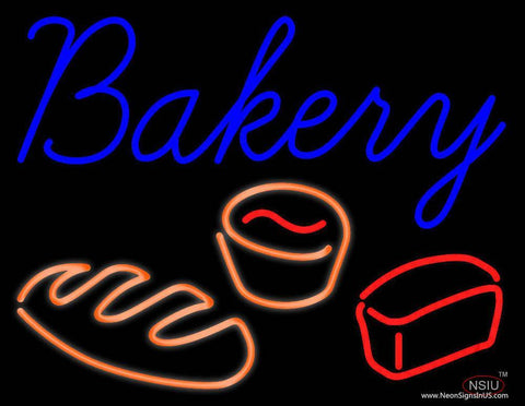 Bakery Real Neon Glass Tube Neon Sign