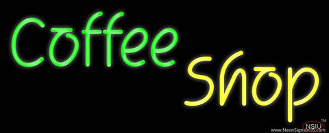 Coffee Shop Real Neon Glass Tube Neon Sign