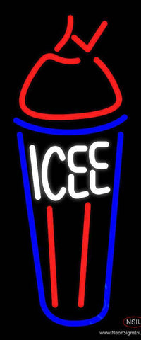Icee Real Neon Glass Tube Neon Sign