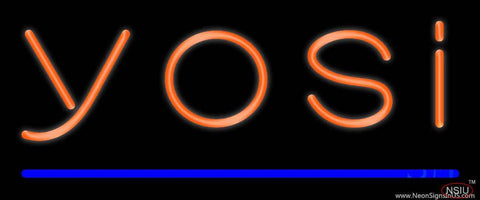 Yosi Real Neon Glass Tube Neon Sign