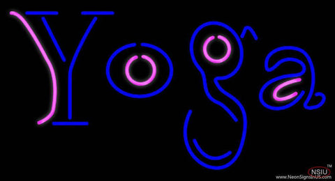 Yoga Real Neon Glass Tube Neon Sign