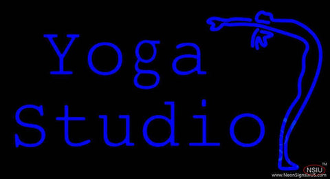 Yoga Studio Real Neon Glass Tube Neon Sign