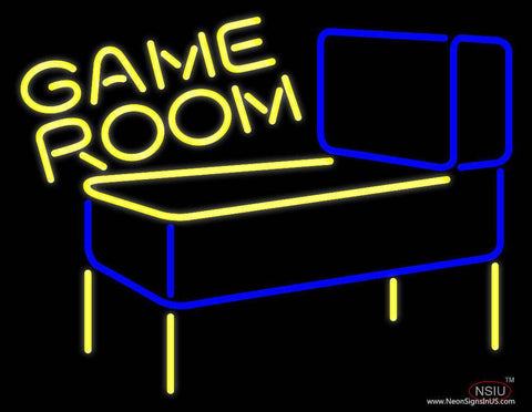 Pinball Game Room Real Neon Glass Tube Neon Sign
