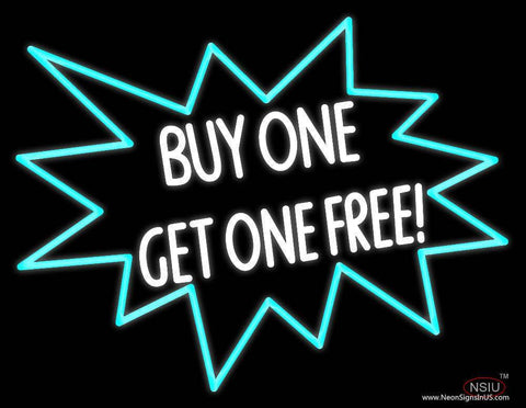 Buy One Get One Free Real Neon Glass Tube Neon Sign