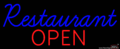 Restaurant Open Real Neon Glass Tube Neon Sign