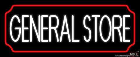 General Store Real Neon Glass Tube Neon Sign