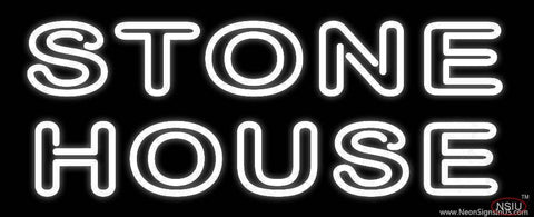 Stone House Real Neon Glass Tube Neon Sign