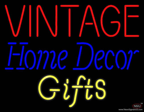Vintage Home Decor Real Neon Glass Tube Neon Sign