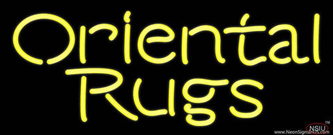Oriental Rugs  Real Neon Glass Tube Neon Sign